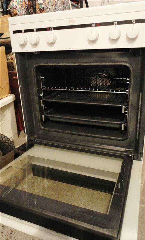 aeg electrolux elektroherd e herd competence typ 57 bda 05 ad ebay. Black Bedroom Furniture Sets. Home Design Ideas