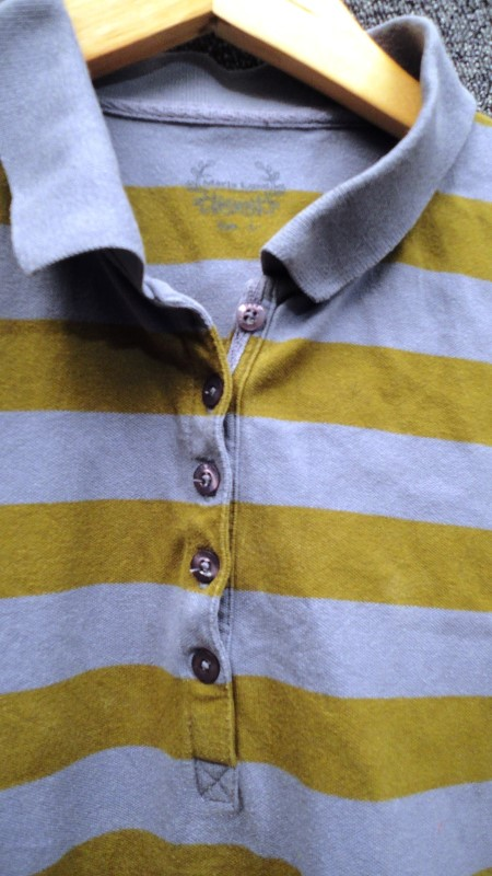 marie lund damenshirt langarmshirt gr n blau gestreift gr l ebay. Black Bedroom Furniture Sets. Home Design Ideas